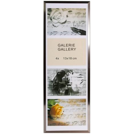GALERIE TIMELESS 4 foto 13x18 ocelová-stahl