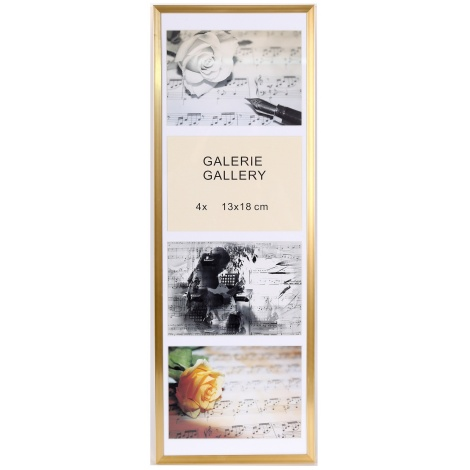 GALERIE TIMELESS 4 foto 13x18 champagne