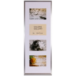 GALERIE TIMELESS 4 foto 10x15 stříbrná