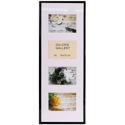 GALERIE TIMELESS 4 foto 10x15 černá
