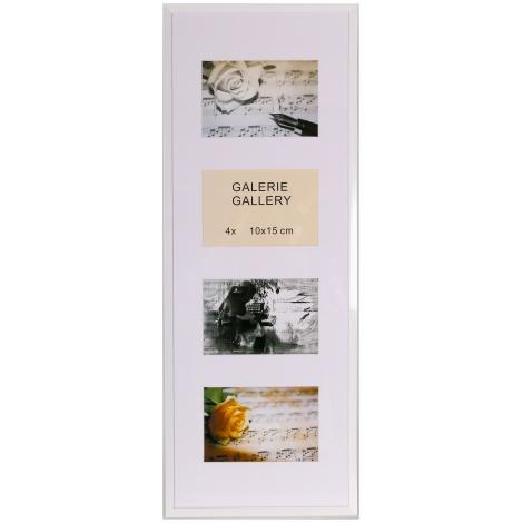GALERIE TIMELESS 4 foto 10x15 bílá