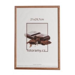 Dřevěný fotorámeček DR001K 15x21 (A5) 02