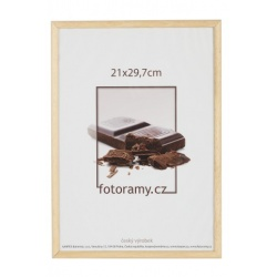 Dřevěný fotorámeček DR001K 21x29,7 (A4) 04