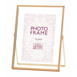 Růžové zlato fotorámeček Rosette 10x15