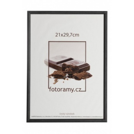 Dřevěný fotorámeček DR0C1K 10x15 C1 černý