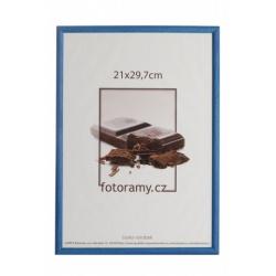 Dřevěný fotorámeček DR0C1K 15x21 C2 tmavě modrý