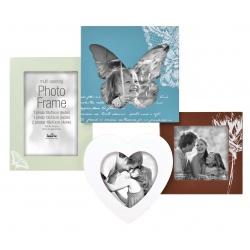 Barevný fotorámeček na více foto s motýlkovými motivy, na 4 fotografie