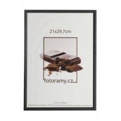 Dřevěný fotorámeček DR0C1K 21x29,7 A4 C1 černý