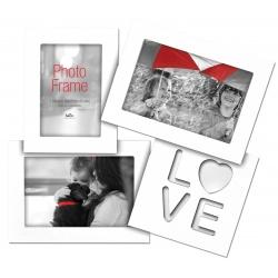 Multirámeček galerie na 3 foto LOVE