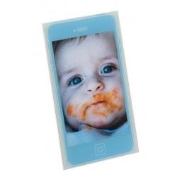 Dětský akrylový fotorámeček MOBIL 10x15 modrá
