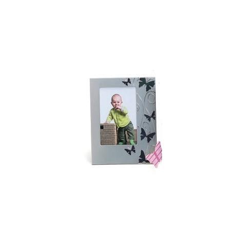 Dětský stříbrný fotorámeček 10x15 SMART BUTTERFLY