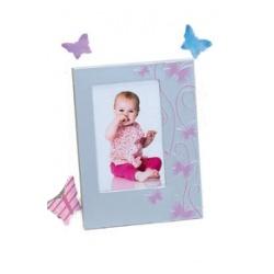Dětský růžový fotorámeček 10x15 SMART BUTTERFLY