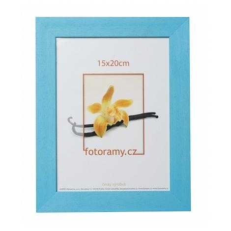 Dřevěný fotorámeček DRC11K 21x30 A4 C4 světle modrý