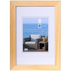 Dřevěný fotorámeček HR-23 13x18 natural