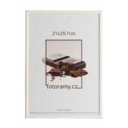 Dřevěný fotorámeček DR0C1K 9x13 C11 bílý