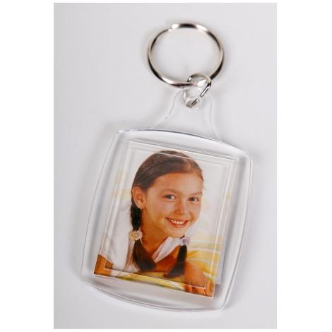 Akrylová klíčenka na fotku 3,3x4,4cm KARPEX