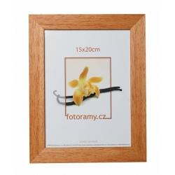 Dřevěný fotorámeček DR011K 9x13 01