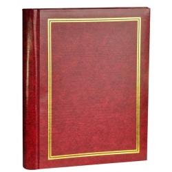 Samolepící fotoalbum CLASSIC 60 stran vínové