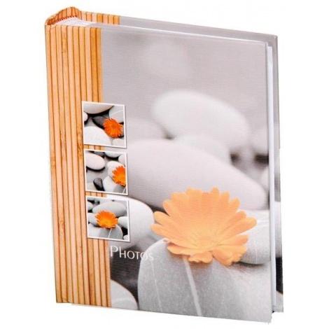 Fotoalbum 10x15/200 fotek STONES oranžové