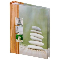 Fotoalbum 10x15/200 fotek STONES zelená