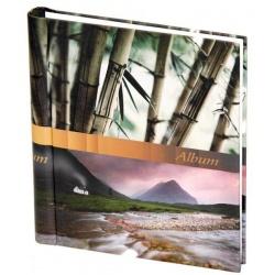 Samolepící fotoalbum 60 stran STONES bambus
