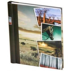 Samolepící fotoalbum 60 stran STONES kůň