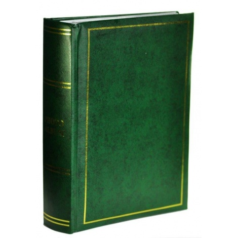Fotoalbum 9x13/200 fotek CLASSIC zelené