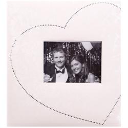 Je T´aime svatební fotoalbum 29x32/60s. stříbrné