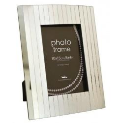 Skleněný fotorámeček PIN STRIPE 13x18