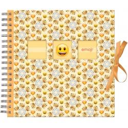 Scrapbook fotoalbum Emoji 25x25/50s Crowns