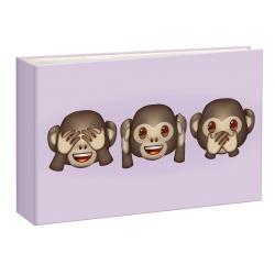 Fotoalbum 10x15/36 Emoji Monkeys