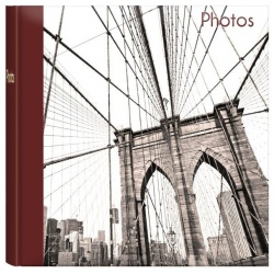 Fotoalbum 10x15/200 foto ICONIC CITIES s popisem Brooklyn bridge