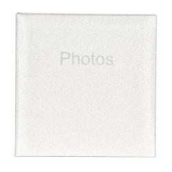 Svatební fotoalbum 10x15/200 Glitter bílý