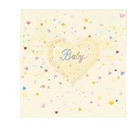 Klasické dětské fotoalbum 25x25/60s. Premium Baby