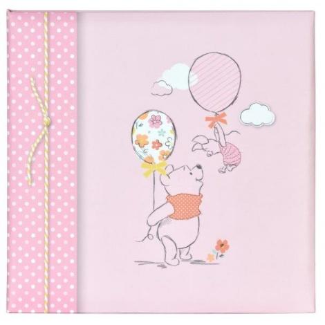 Dětské DISNEY fotoalbum 10x15/200 Medvídek Pů Baby růžové
