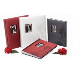 Svatební fotoalbum 13x18/200 SECRETS bílé