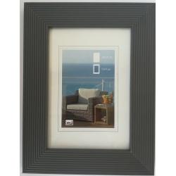 Dřevěný fotorámeček HR-23 10x15 šedivý