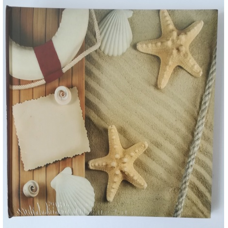 Fotoalbum na růžky 30x30/100s. COMPASS hvězdice