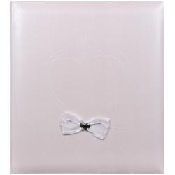 Svatební fotoalbum na růžky HEARTBEAT 29x32/60 bronzové