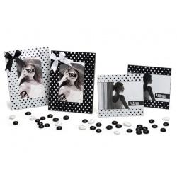 Fotorámeček DOTS 10x15 bílý