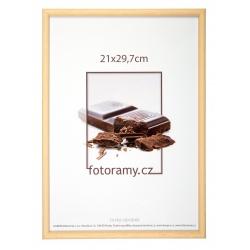 Dřevěný fotorámeček DR001K 21x29,7 (A4) 04 natural