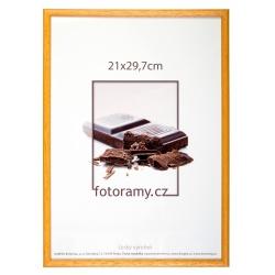 Dřevěný fotorámeček DR001K 10x15 05 mid natural