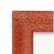 Dřevěný fotorámeček DR011K 9x13 03 mahagon
