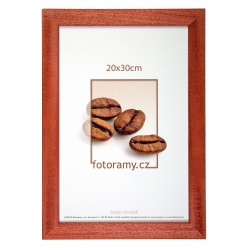 Dřevěný fotorámeček DR011K 10x15 03 mahagon