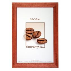 Dřevěný fotorámeček DR011K 18x24 03 mahagon