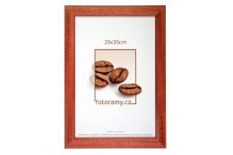 Dřevěný fotorámeček DR011K 20x30 03 mahagon