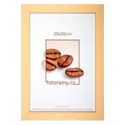 Dřevěný fotorámeček DR011K 13x18 04 natural