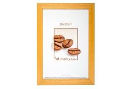 Dřevěný fotorámeček DR011K 13x18 05 mid natural