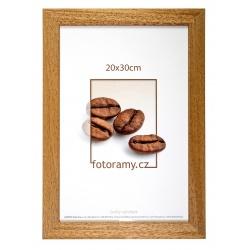 Dřevěný fotorámeček DR011K 18x24 06 pinie