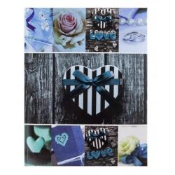 Fotoalbum 10x15/200pop JOY modrá